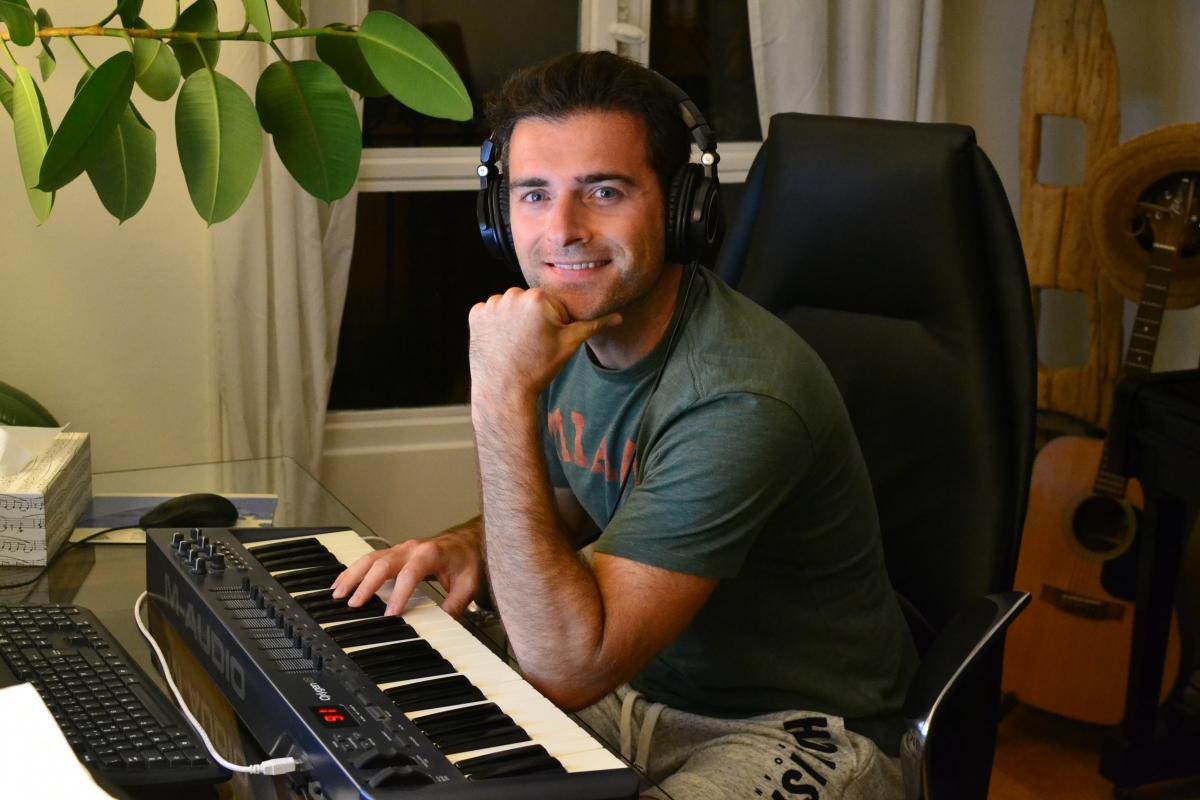 Julien Goetz, compositeur Compote de Prod
