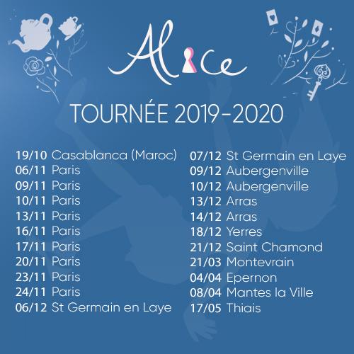Alice - Tournée 2019 - Carré