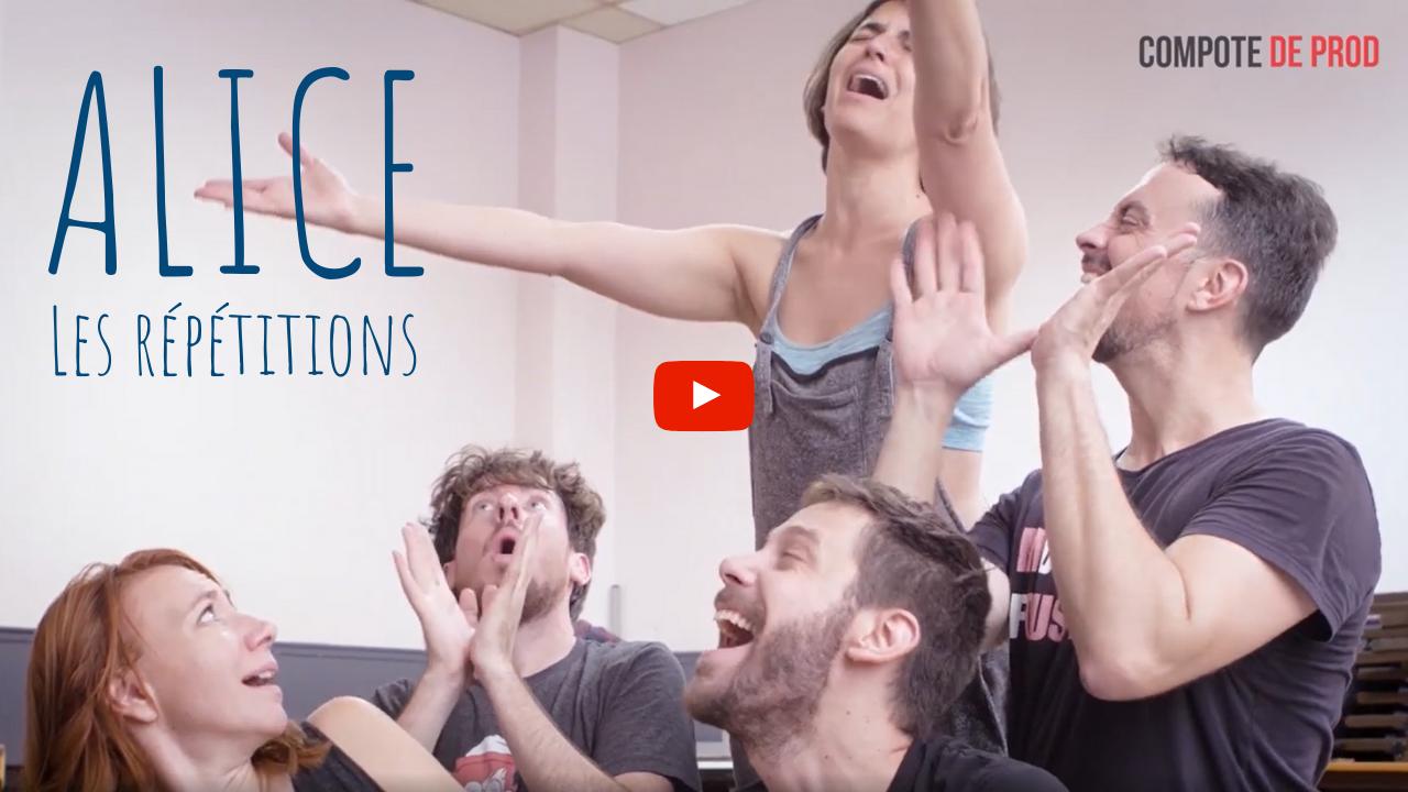 VIDÉO - Le making-of des répétitions d'Alice !