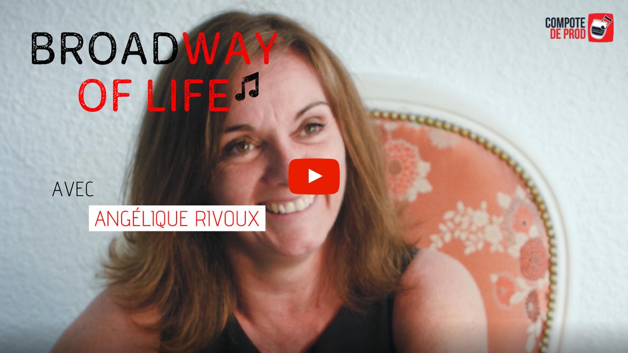VIDÉO – L'interview comédie musicale d'Angélique Rivoux