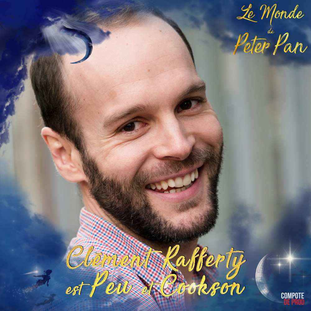 Clément Rafferty Le Monde de Peter Pan